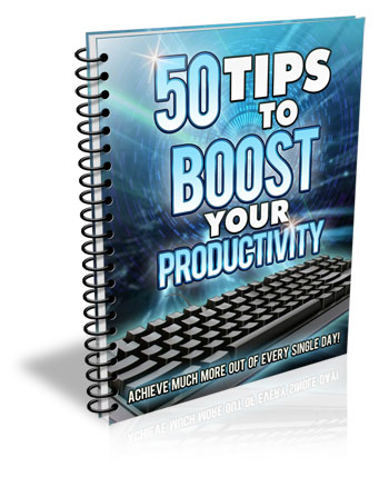 50 Tips To Boost Your Productivity Reports