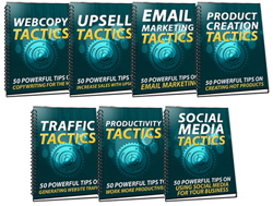 350 Marketing Tactics With Master Resell Rights Reports